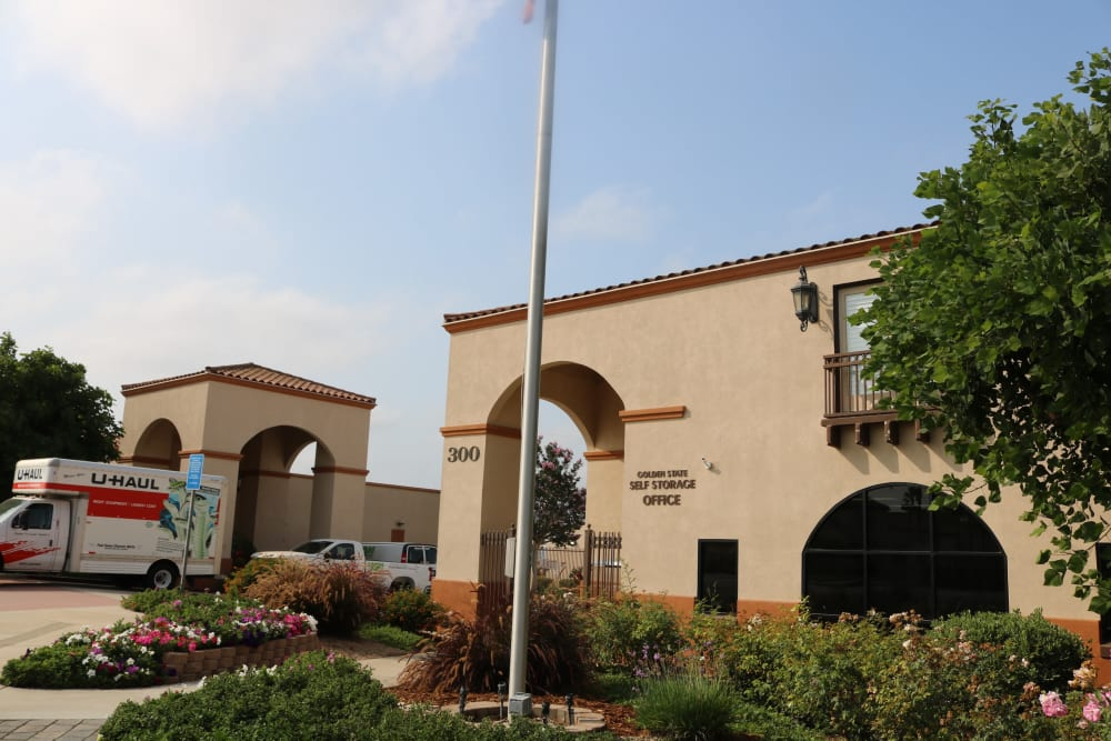 Our beautiful Camarillo location storage facility