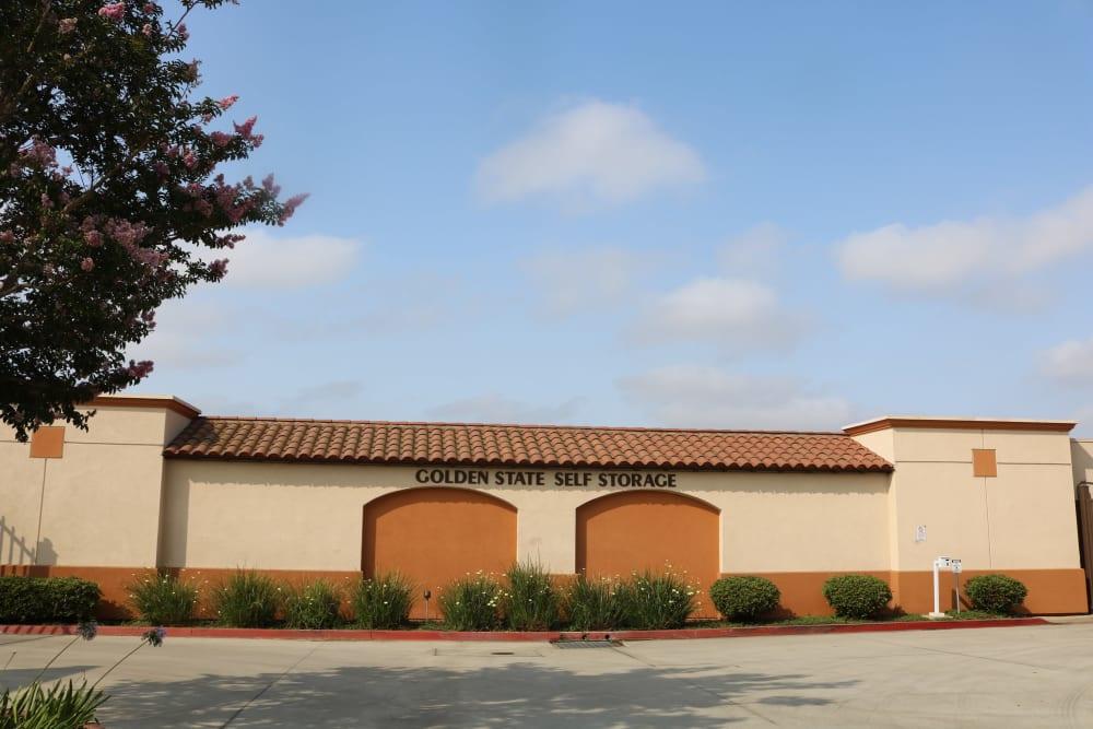 Wide driveways at Golden State Storage - Camarillo in Camarillo, California