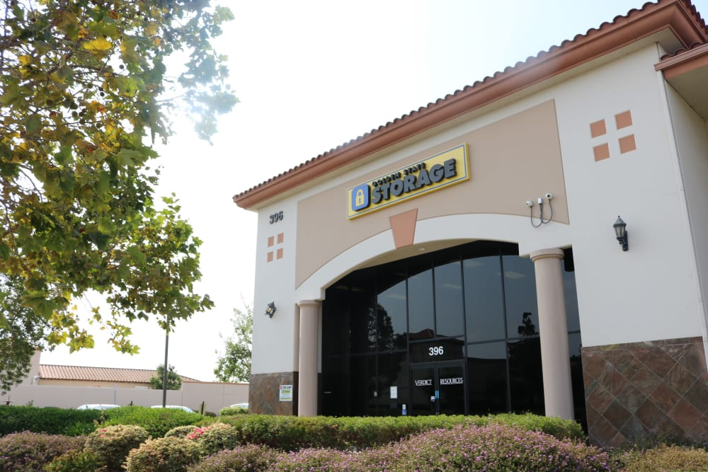 Our office's façade at Camarillo location storage facility