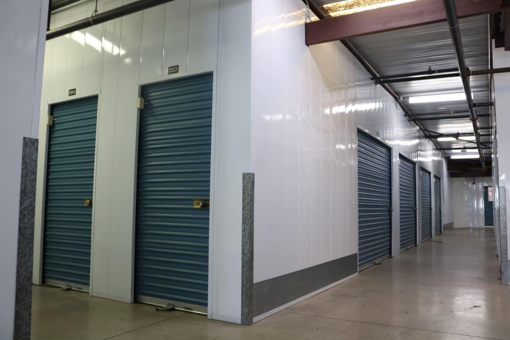 Indoor units at our Camarillo location storage facility