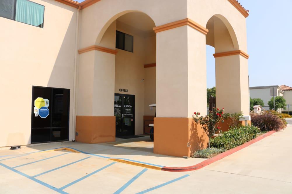Office entrance to Golden State Storage - Camarillo in Camarillo, California