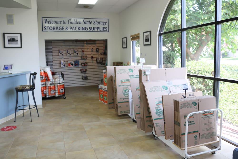 Boxes available at Golden State Storage - Camarillo in Camarillo, California