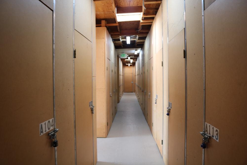 Climate-controlled storage in Santa Clarita