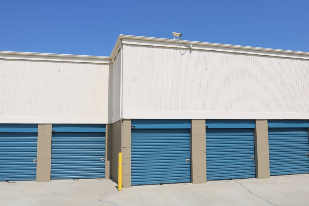 Very clean grounds at Golden State Storage - Golden Triangle in Santa Clarita, California