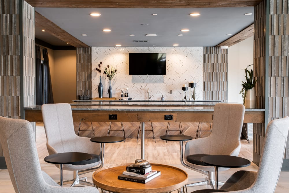 Our Apartments in Dallas, Texas offer a Clubhouse lounge area