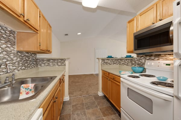 Kitchen at Forest Oaks Apartment Homes