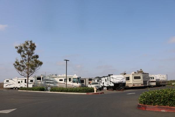 Vehicle storage at Golden State Storage - Camarillo in Camarillo, California