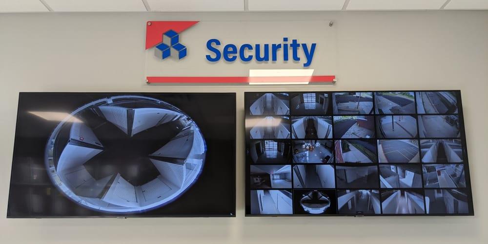 Security offered at Devon Self Storage