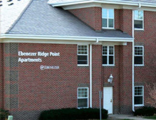 Ridge Point Apartments from Ebenezer Senior Living