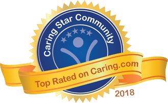 Caring stars earned by Arbour Square of Harleysville in Harleysville, Pennsylvania