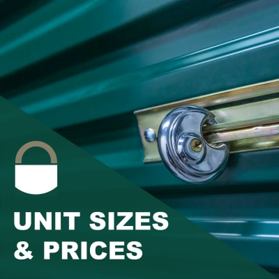 View units and sizes at Lock It Up Self Storage in Ogden, Utah