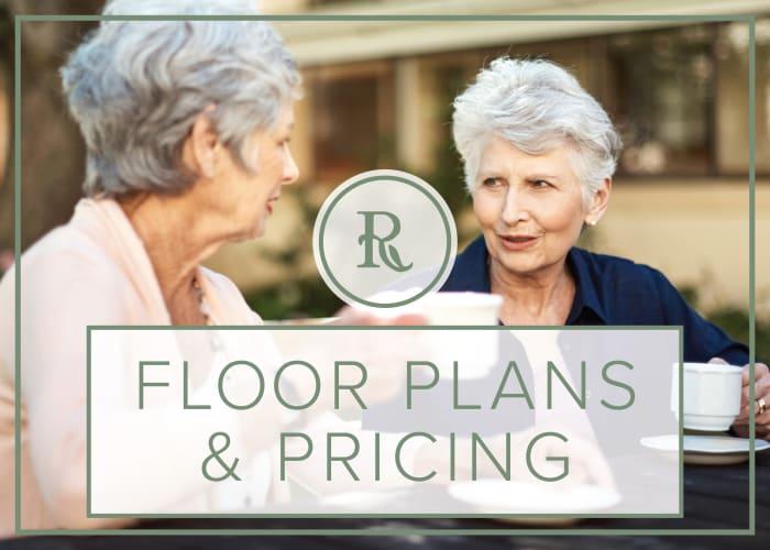 Floor Plans and Pricing at Regency Park Astoria in Pasadena, California
