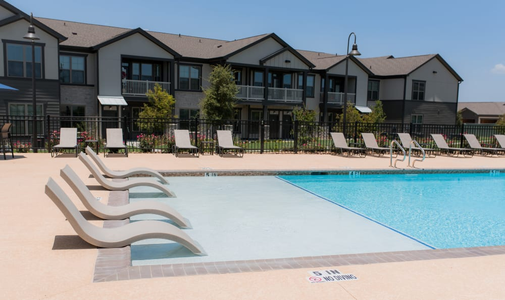 Resort Style Pool at Springs at Sunfield In Buda