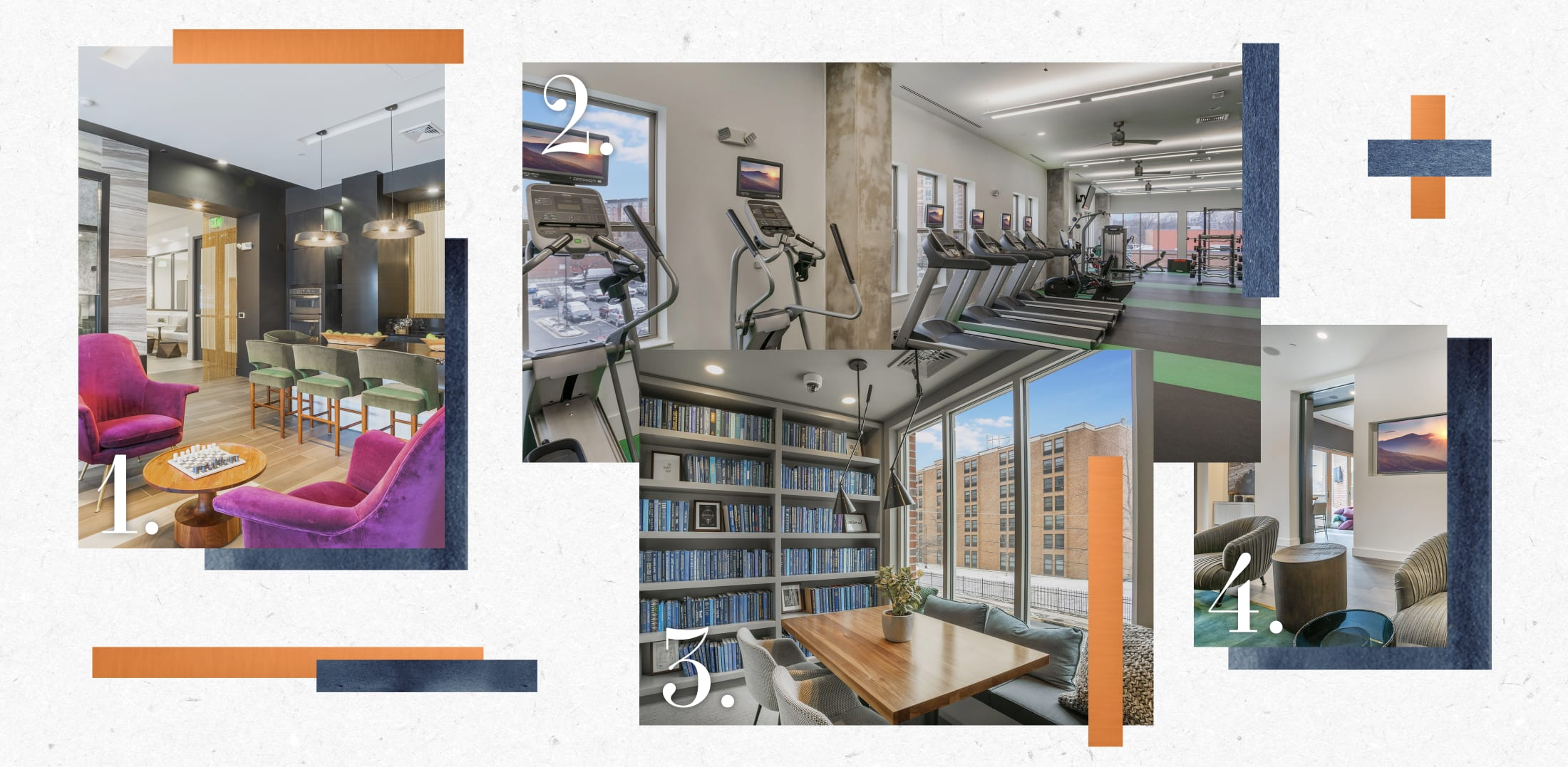 Apartment amenities and community highlights at Alloy by Alta in College Park, Maryland