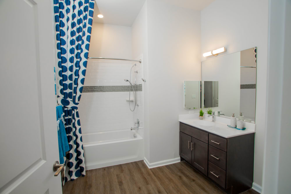 Our Beautiful Apartments in Parsippany, New Jersey showcase a Bathroom