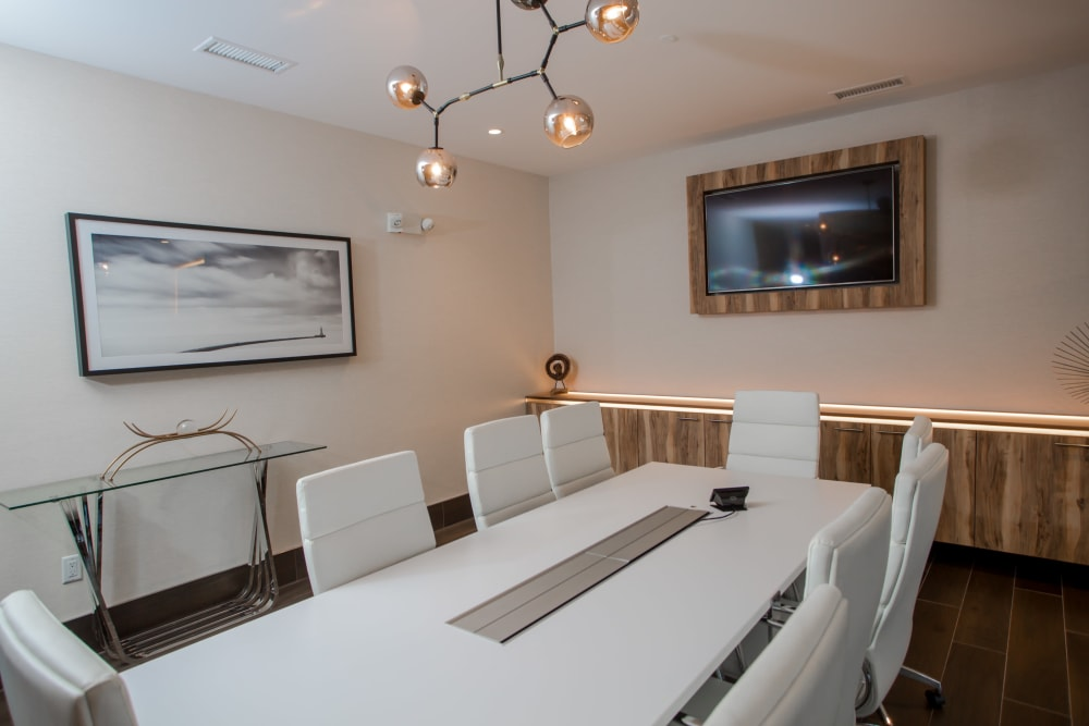 Meeting room at The Mark Parsippany in Parsippany, New Jersey