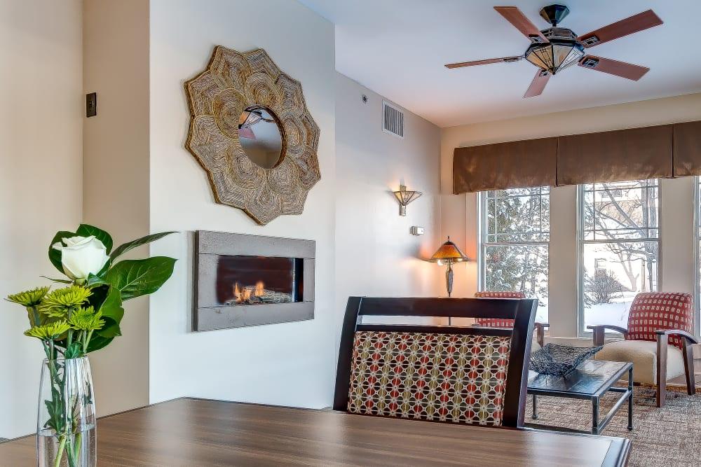 Spacious floor plan at Maplewood at Orange in Orange, Connecticut