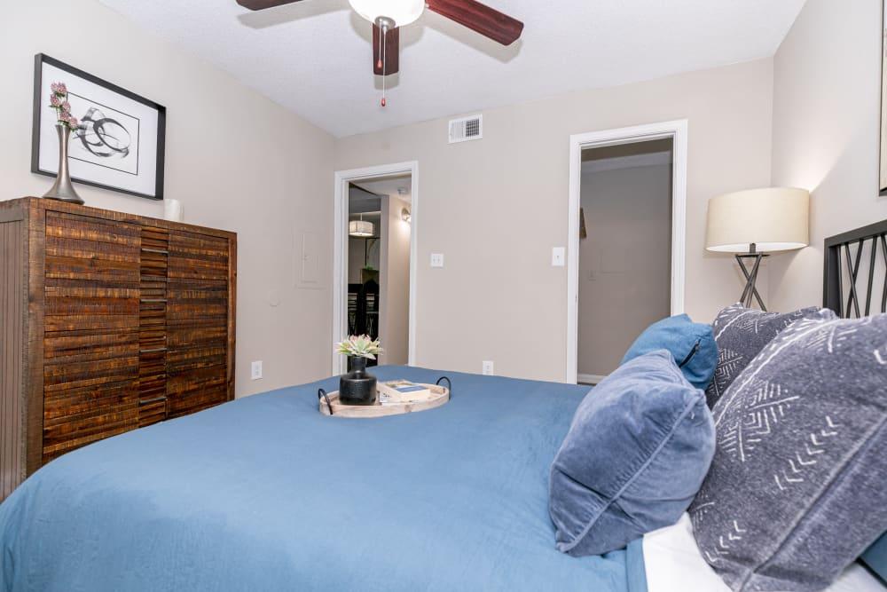 Cozy Bedroom at Apartments in Atlanta, Georgia