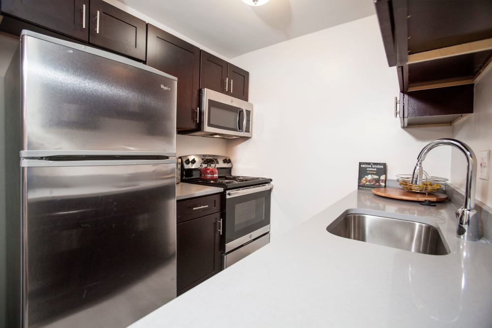 Kitchen at Quail Ridge Apartments in Plainsboro, NJ