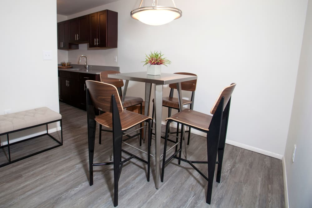 Dining room at Quail Ridge Apartments in Plainsboro, NJ