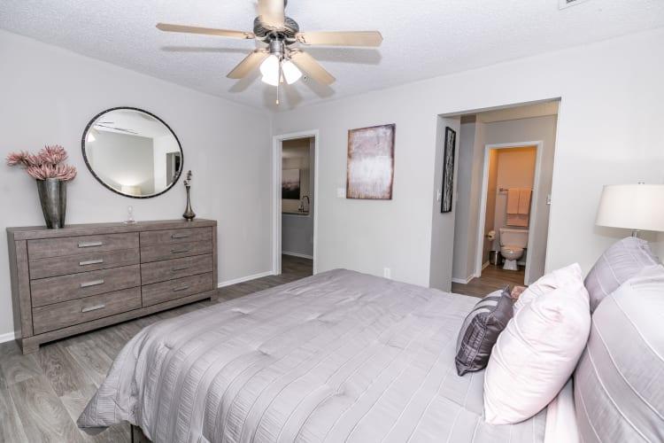 Bedroom at The Pointe at Preston Ridge in Alpharetta, Georgia