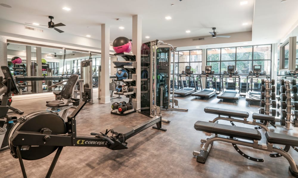 Our apartments in Chapel Hill, North Carolina have a state-of-the-art fitness center