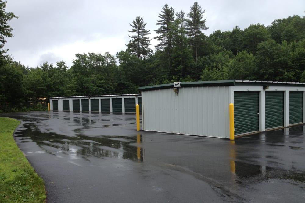 Safe Storage in Parsonsfield, Maine, offers clean exterior storage units
