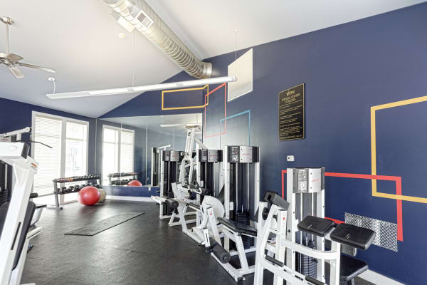 You'll love the community fitness center at Westhills Apartment Homes!