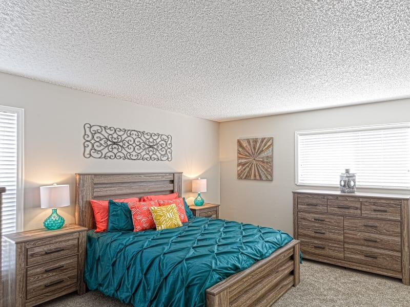 Bedroom at Westhills Apartment Homes