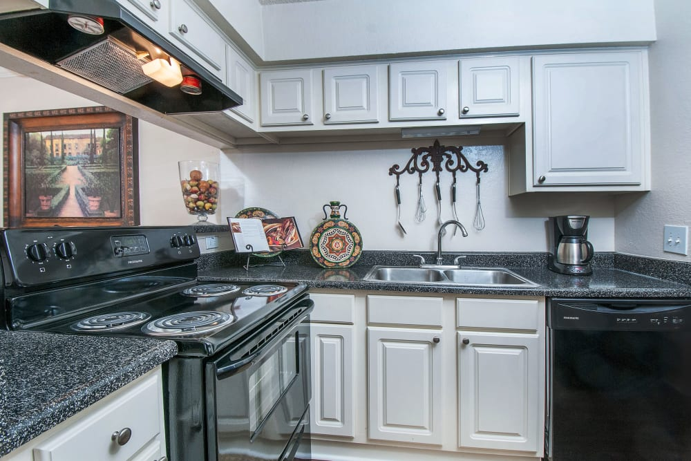 Our Apartments in North Richland Hills, Texas offer a Kitchen