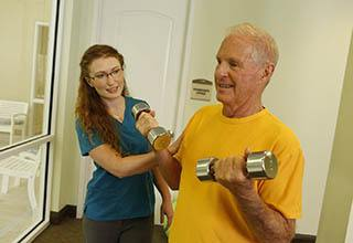 Fitness program at Discovery Commons At Bradenton in Bradenton, Florida