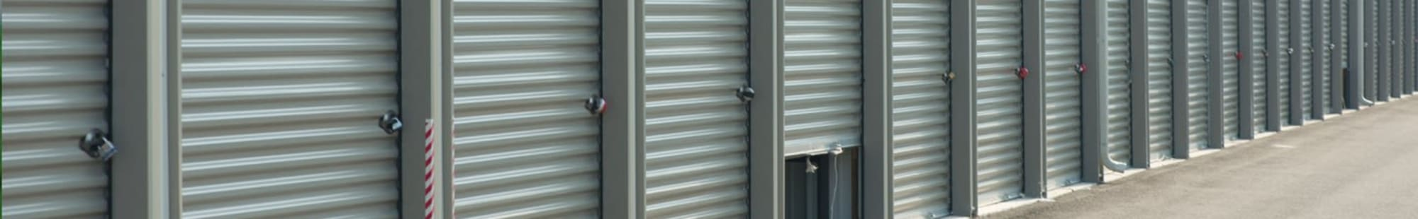 Self storage features in Montgomery, Texas