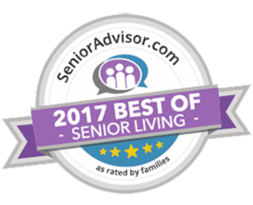 Cardinal Village Wins 2017 Best of Senior Living Award from SeniorAdvisor.com