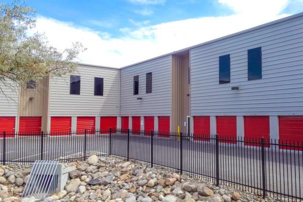 Self storage building exterior in Reno