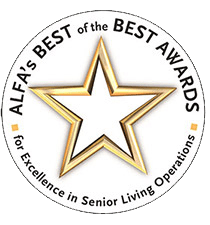 "Assisted Living Federation of America (ALFA) bestows ""Best of the Best Awards"" to Terrace Communities in Manchester Center, Vermont"