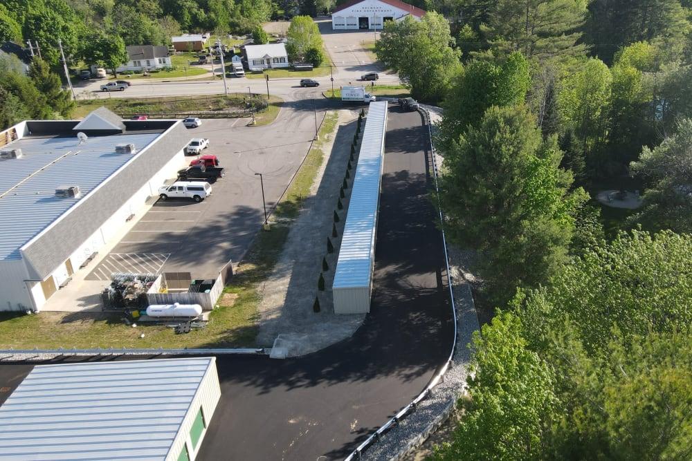 Plentiful parking at 603 Storage - Belmont in Belmont, New Hampshire