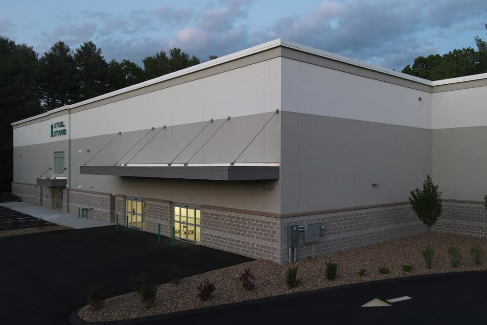 Front of facility at 603 Storage - Hudson in Hudson, New Hampshire