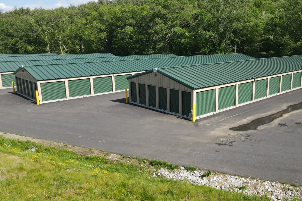 Space for larger cars at 603 Storage - West Milford in Milford, New Hampshire