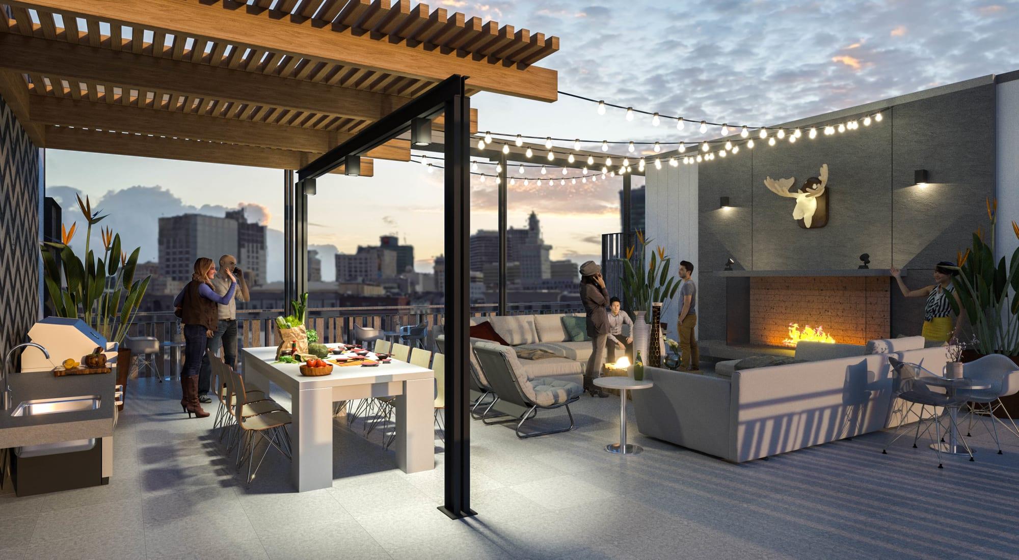 Apartments at The Moran in Oakland, California