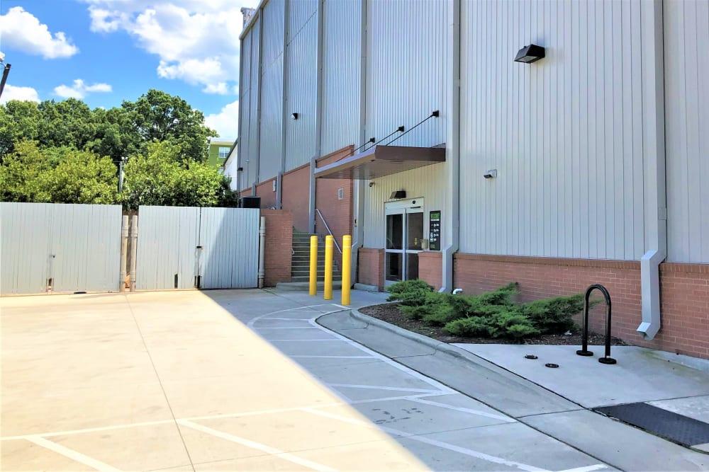 Loading area at My Neighborhood Storage Center in Durham, North Carolina