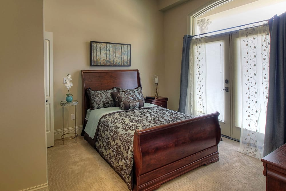 Bedroom at Tranquility Estates in Grand Blanc, Michigan
