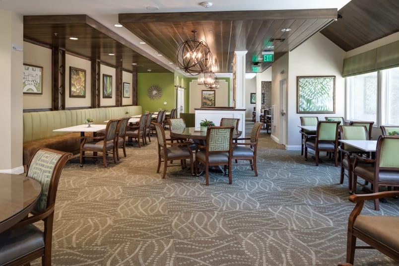 Banquet hall at The Montera in La Mesa, California