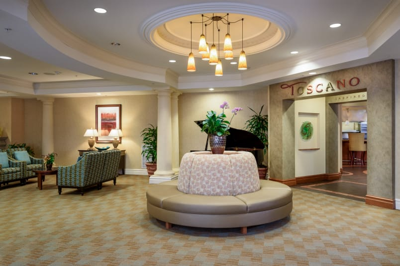 Assisted living at The Bellettini in Bellevue, Washington
