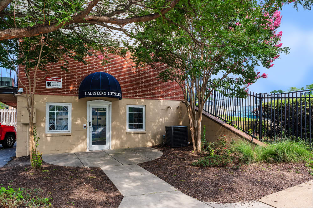 Cove Village offers a laundry center in Essex, Maryland