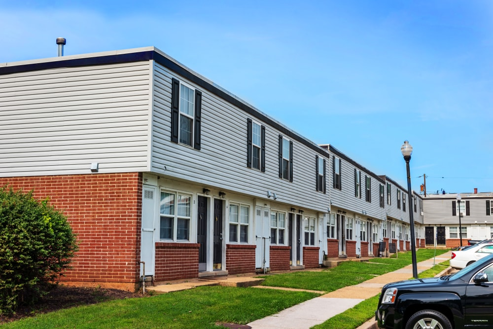 Apartments at Cove Village in Essex, Maryland