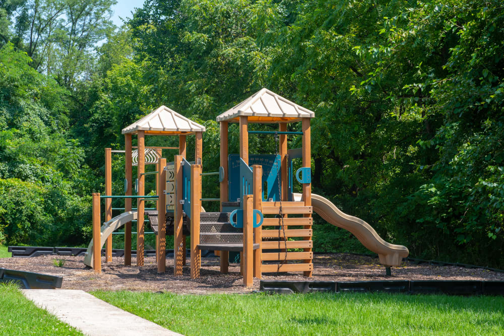 Great for entertaining playground at Highland Village in Halethorpe, Maryland