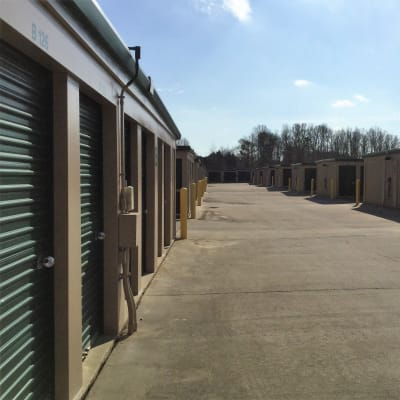 Unit Sizes at Cardinal Self Storage - Burlington in Burlington, North Carolina
