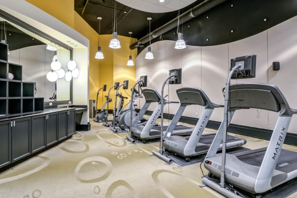 Fitness center at Inigo's Crossing