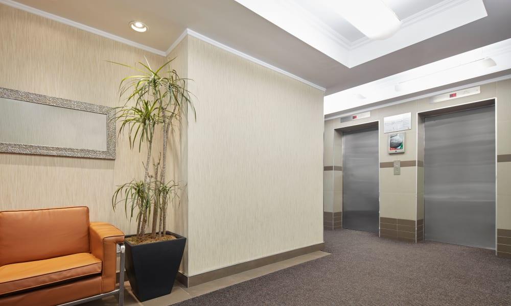Elevators at Richmond Hill Apartments in Richmond Hill, Ontario