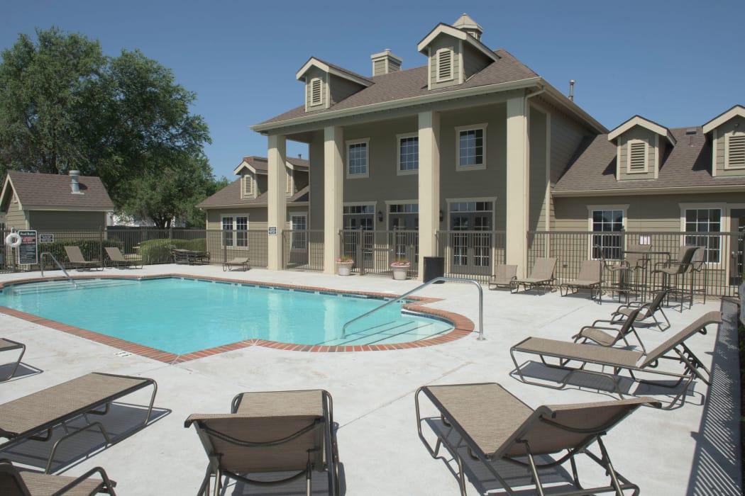 Beautiful pool at Newport Wichita in Wichita, Kansas